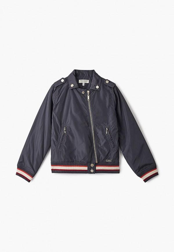куртка twinset milano для девочки, серая