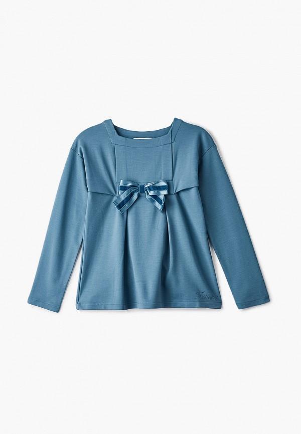 блузка twinset milano для девочки, бирюзовая