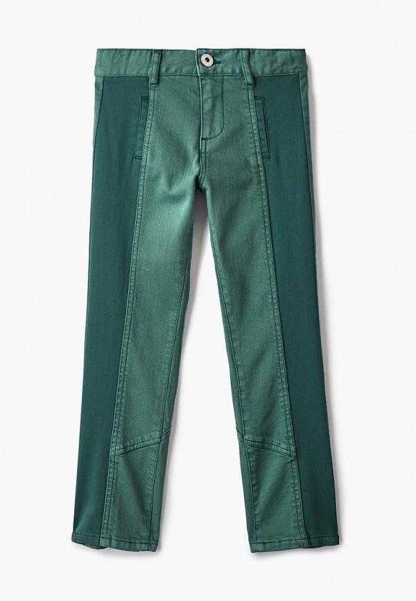 брюки twinset milano для девочки, зеленые