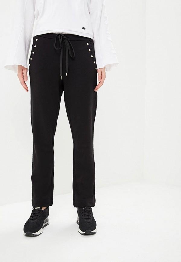 женские спортивные спортивные брюки twinset milano, черные