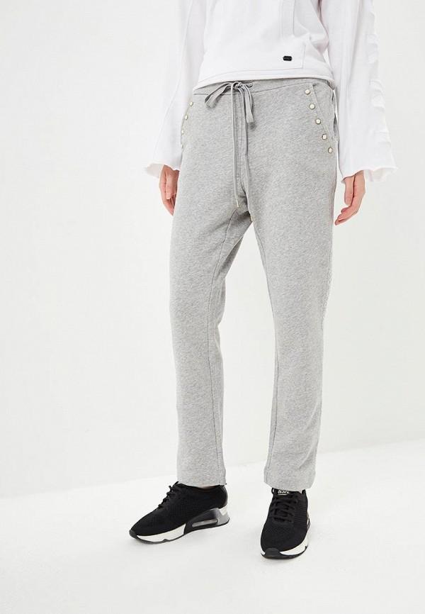 женские спортивные спортивные брюки twinset milano, серые