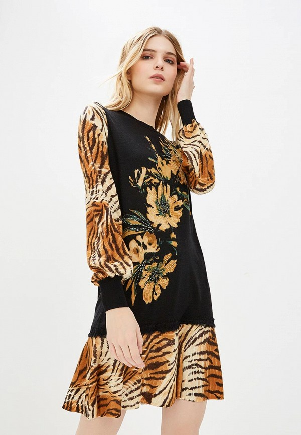 Платье Twinset Milano Twinset Milano TW008EWBXQV5 off the shoulder short sleeve printed crop top elastic waist shorts twinset for women
