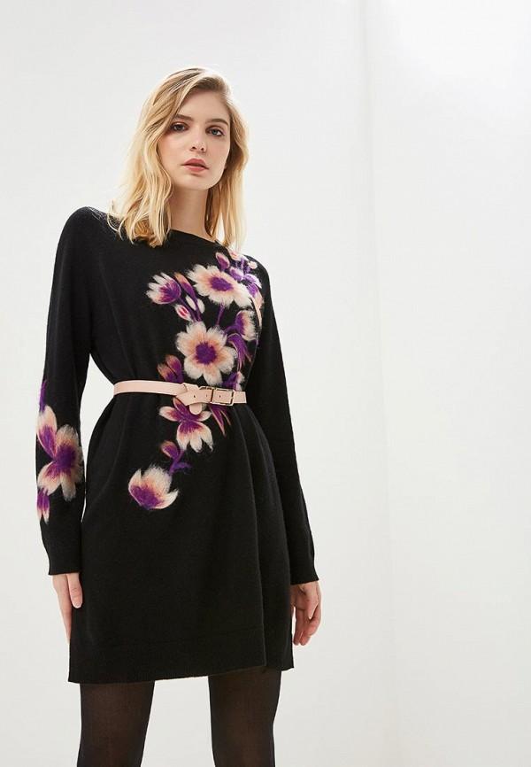 Платье Twinset Milano Twinset Milano TW008EWBXQW0 off the shoulder short sleeve printed crop top elastic waist shorts twinset for women