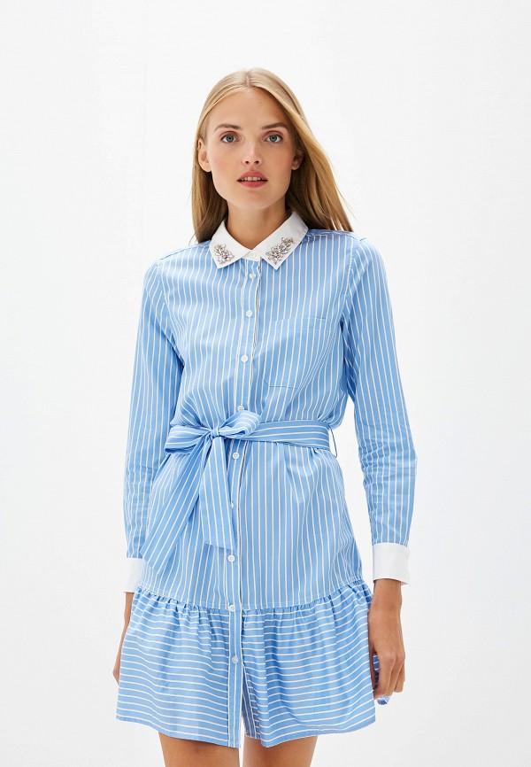 Платье Twinset Milano Twinset Milano TW008EWEHUC3 пончо twinset milano twinset milano tw008ewfmxc5