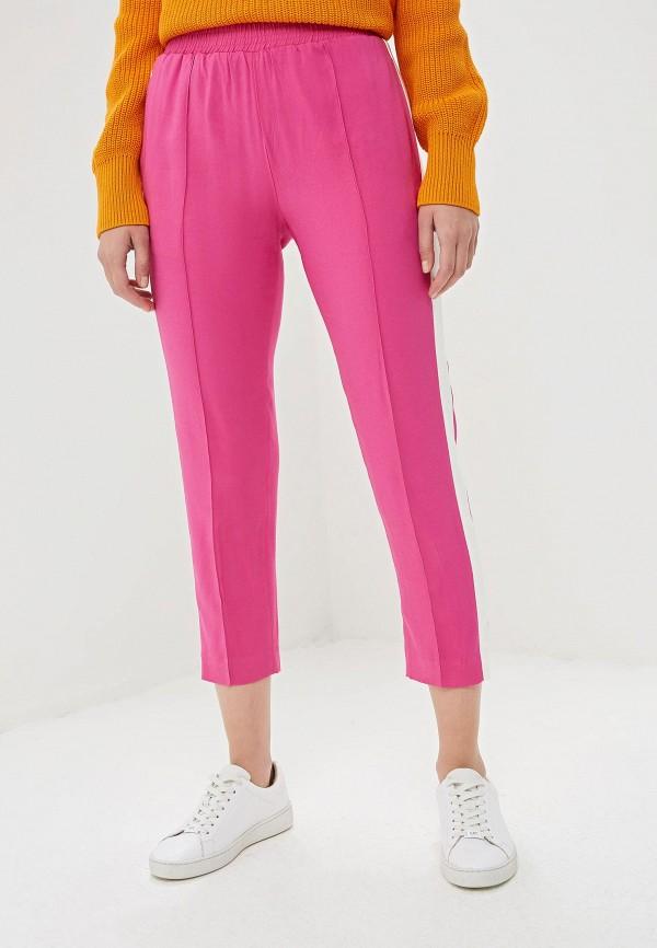 женские брюки twinset milano, розовые