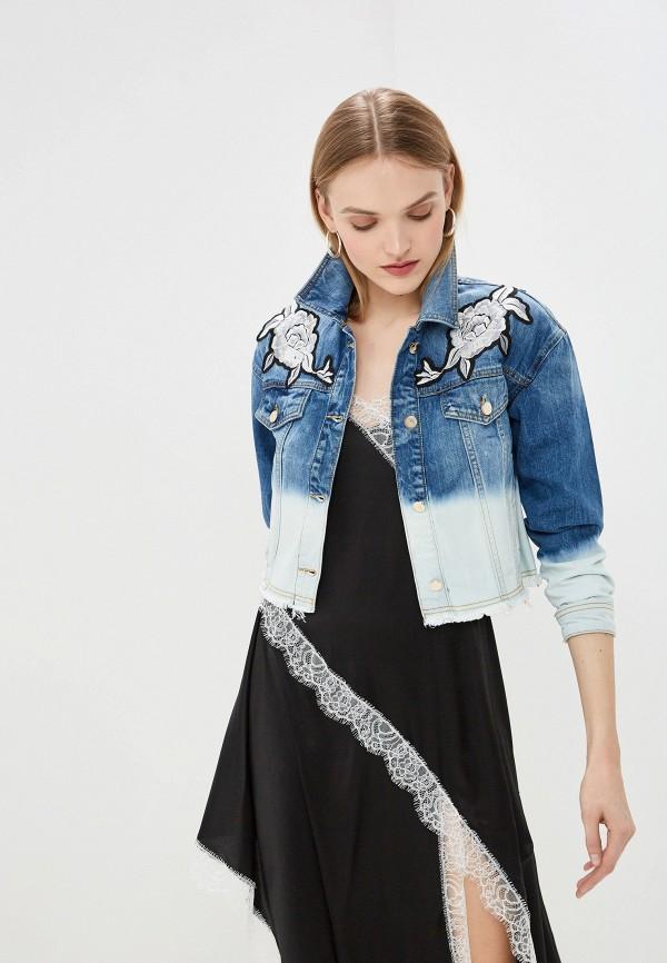 все цены на Куртка джинсовая Twinset Milano Twinset Milano TW008EWEHUY1 онлайн