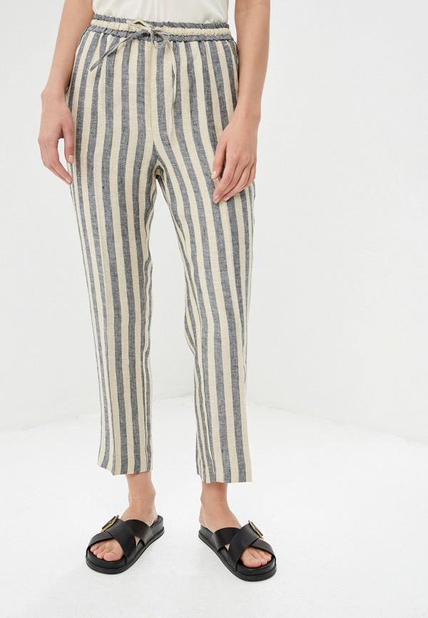 женские повседневные брюки twinset milano, разноцветные