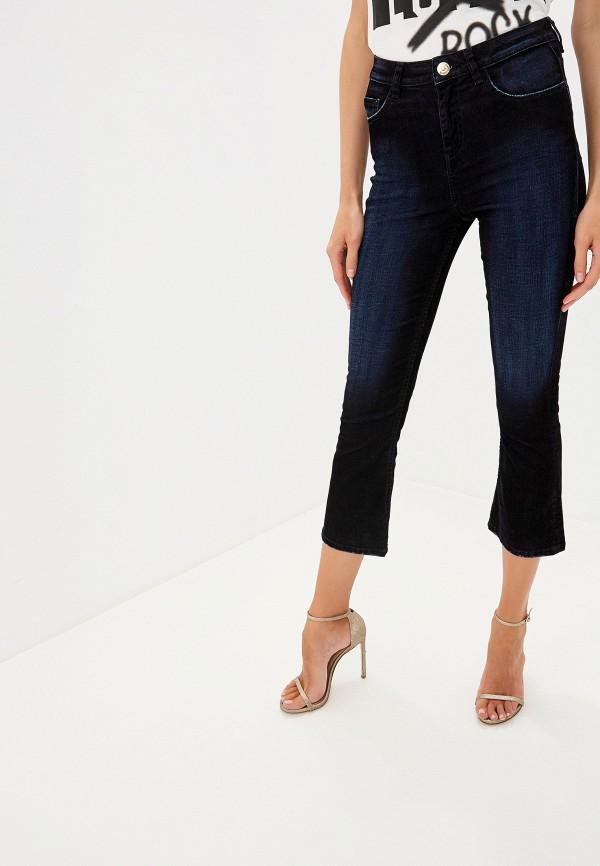 женские джинсы клеш twinset milano, синие