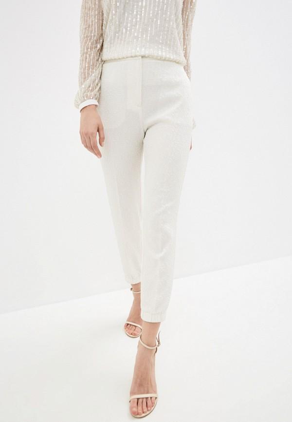 женские повседневные брюки twinset milano, белые