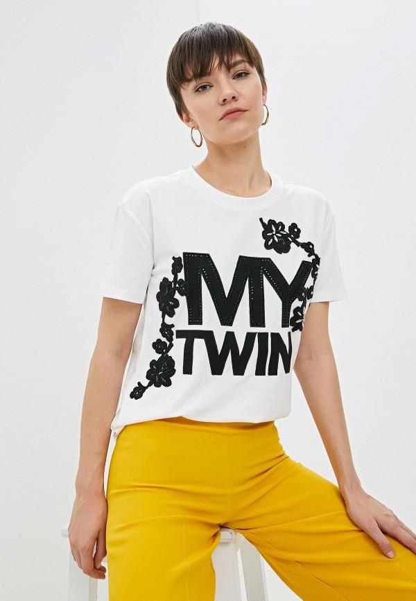 Футболка Twinset Milano Twinset Milano TW008EWHJUL9 футболка twinset milano twinset milano tw008ewehup9