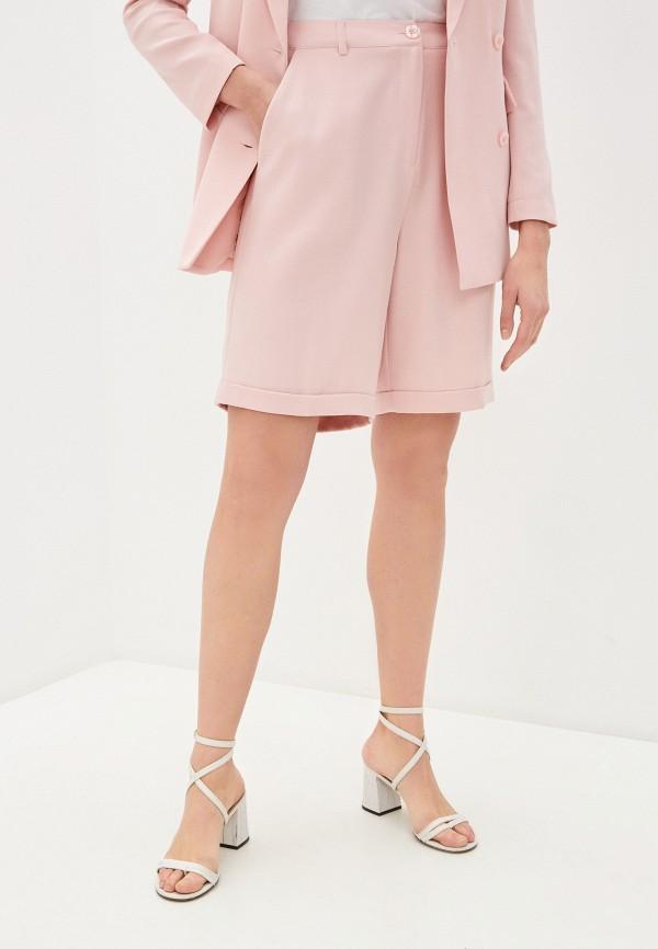женские повседневные шорты twinset milano, розовые