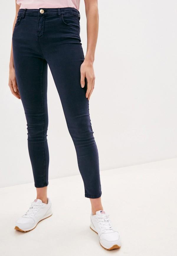 женские брюки скинни twinset milano, синие
