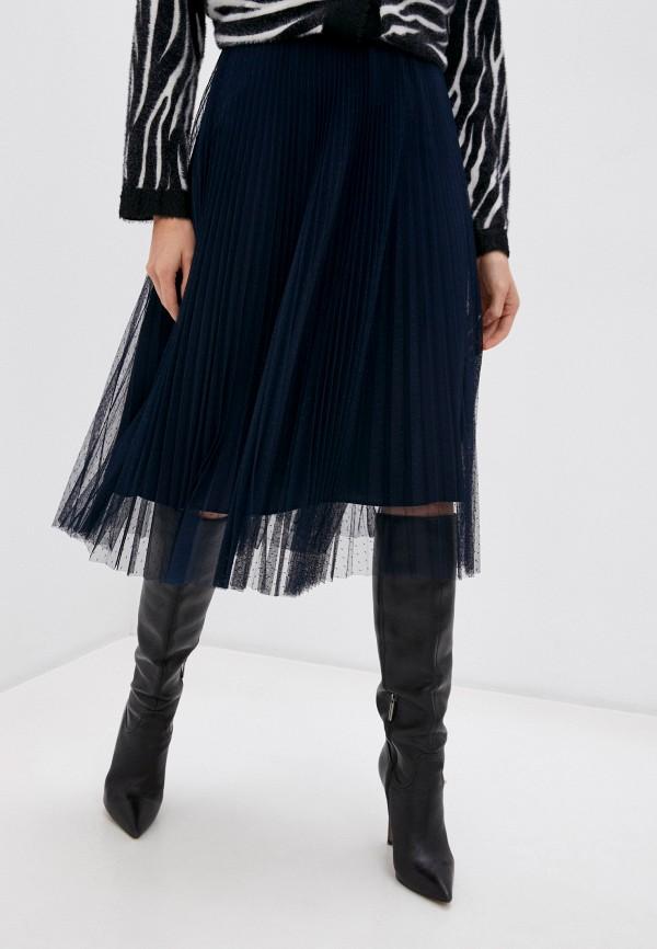 женская юбка twinset milano, синяя