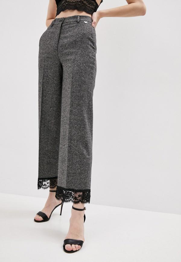 женские повседневные брюки twinset milano, серые