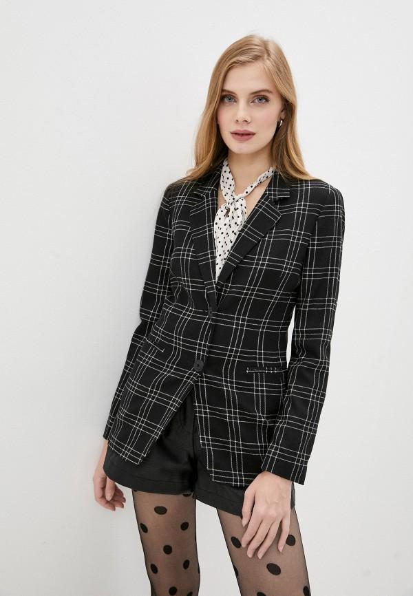 женский пиджак twinset milano, черный