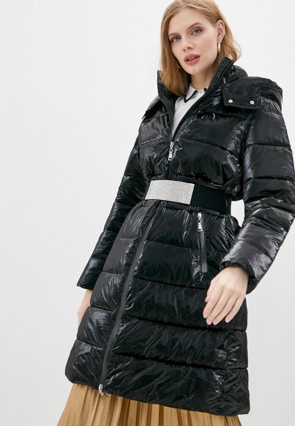 женская куртка twinset milano, черная