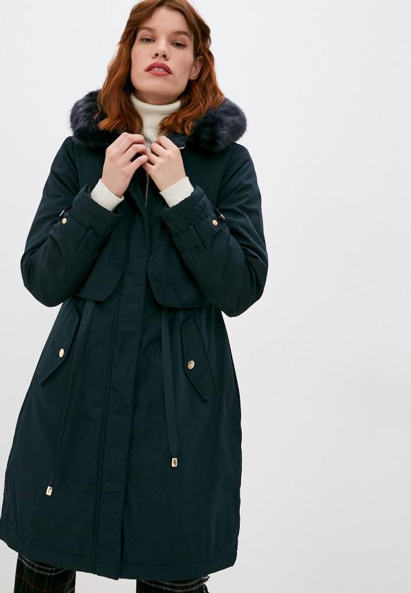 женская куртка twinset milano, синяя
