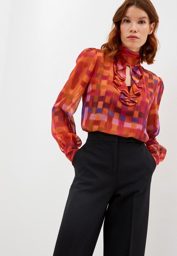 женская блузка twinset milano, разноцветная