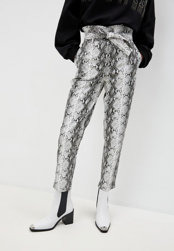 женские брюки twinset milano, серые