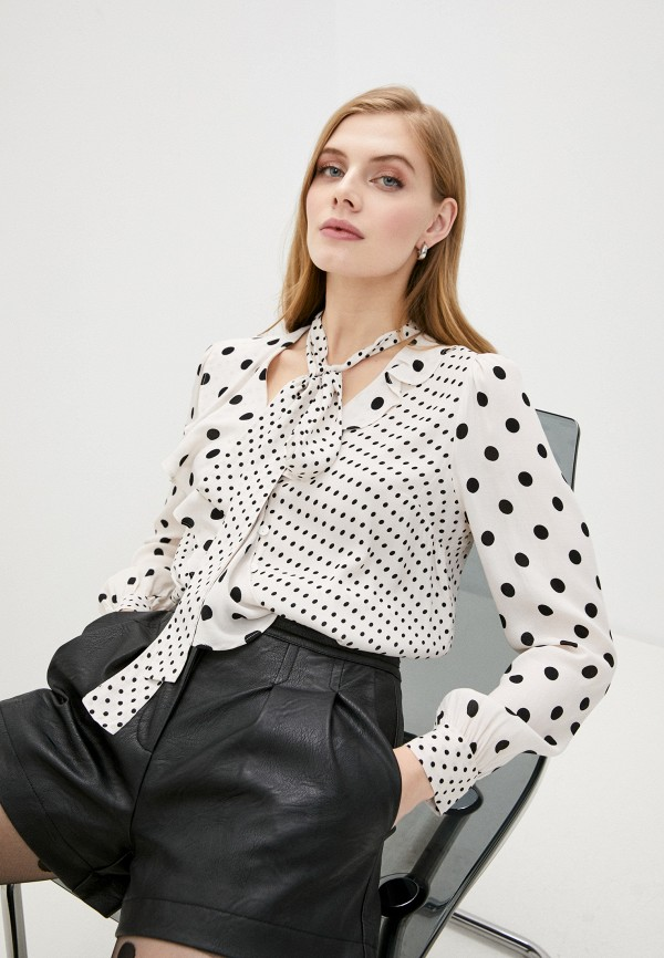 женская блузка twinset milano, бежевая