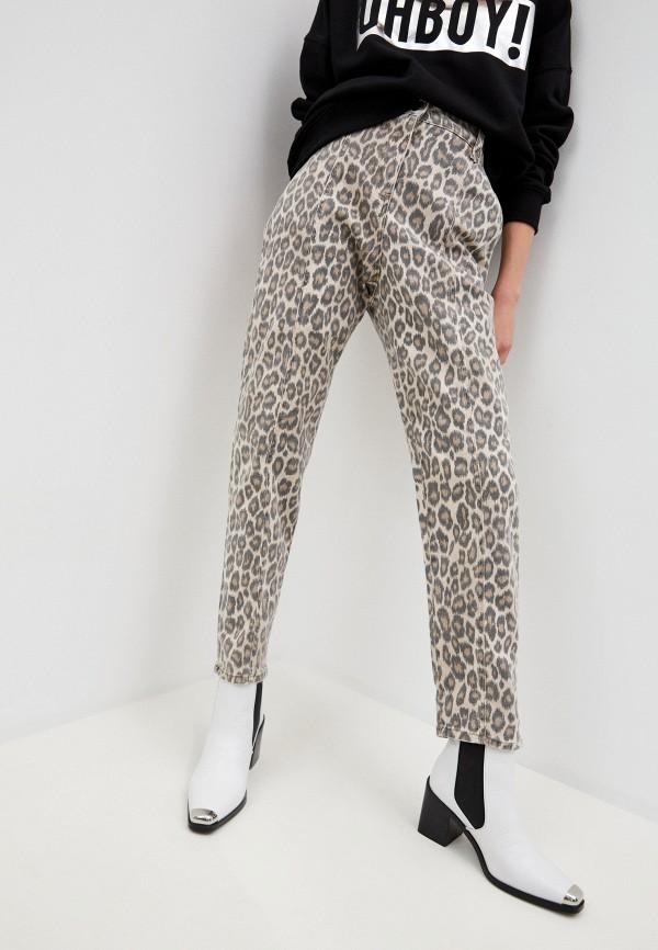 женские джинсы twinset milano, коричневые