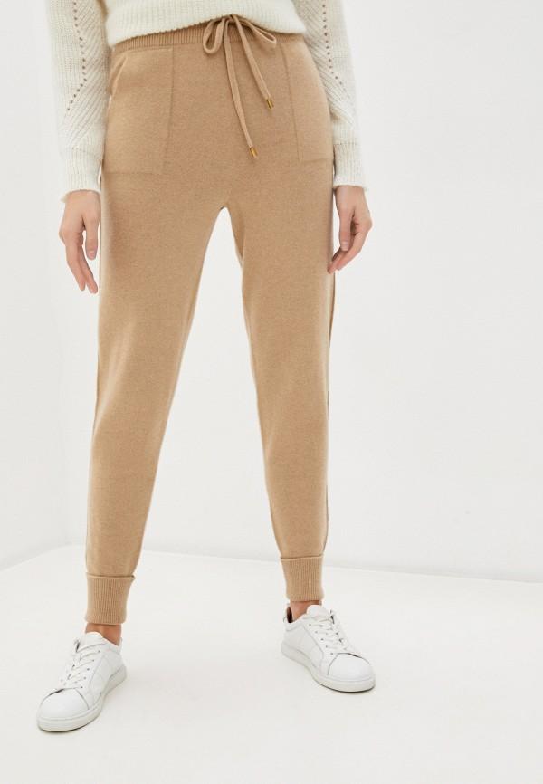 женские брюки twinset milano, бежевые