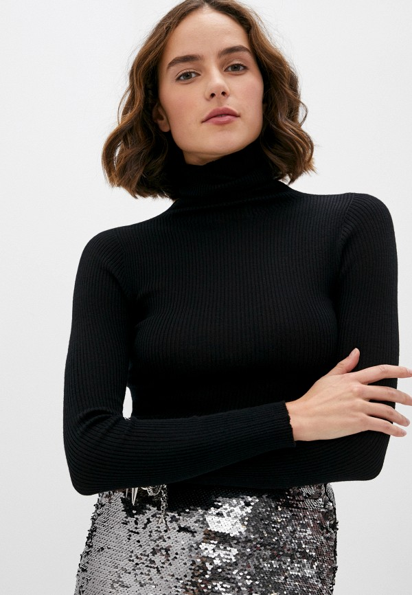женская водолазка twinset milano, черная
