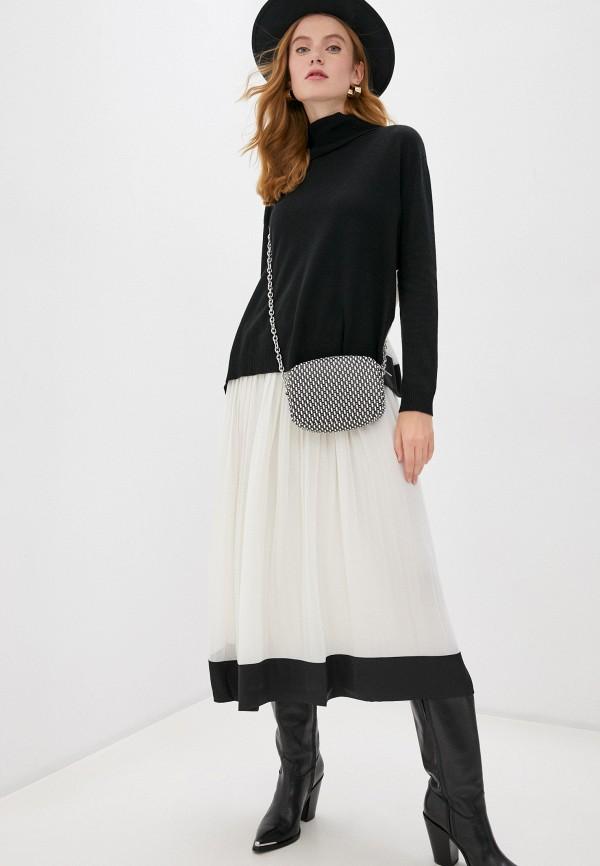 женский свитер twinset milano, черный