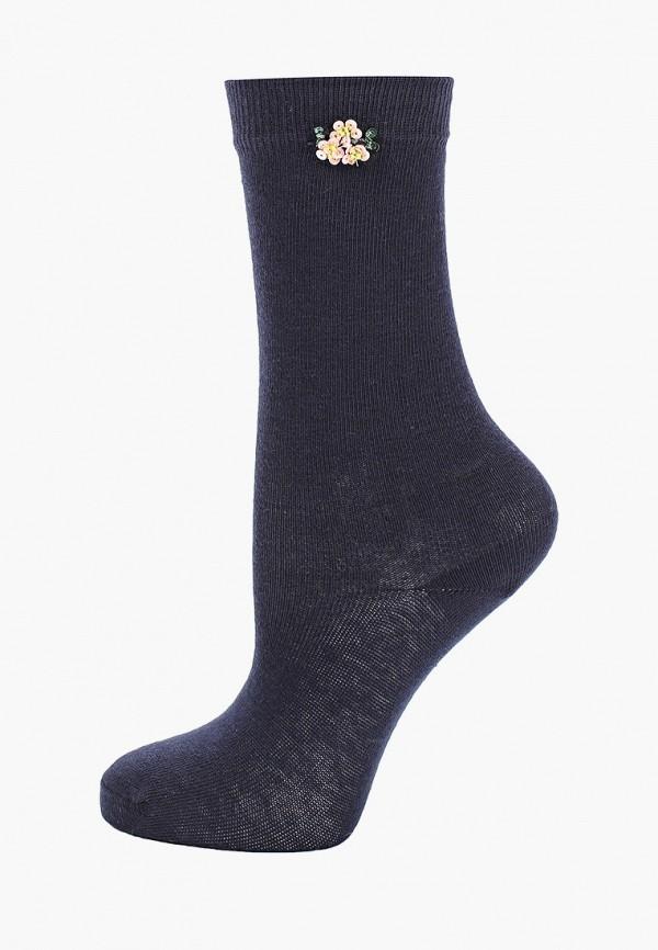 носки twinset milano для девочки, синие