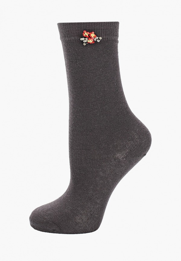 носки twinset milano для девочки, серые