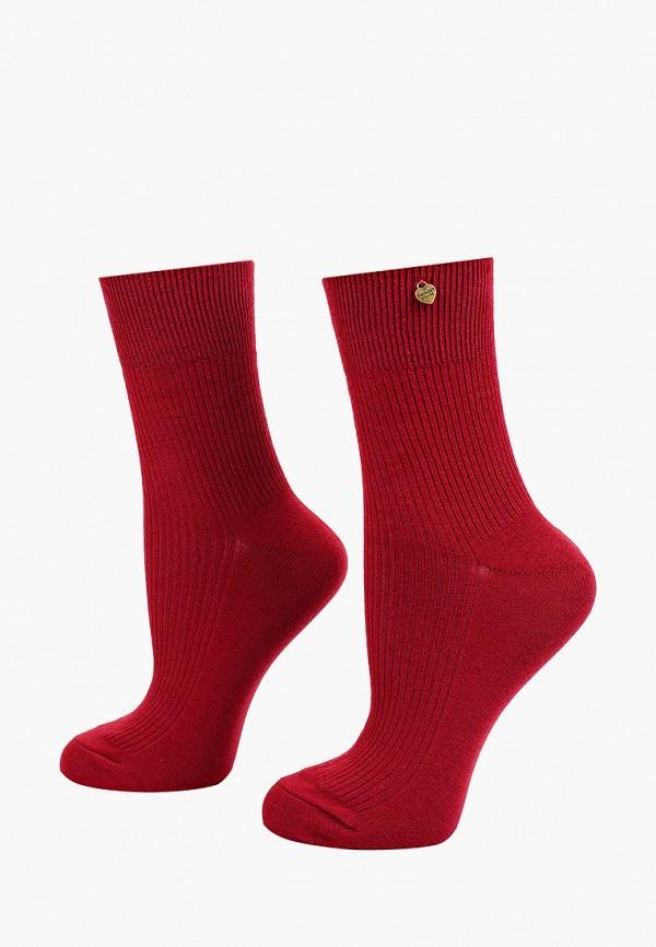женские носки twinset milano, бордовые