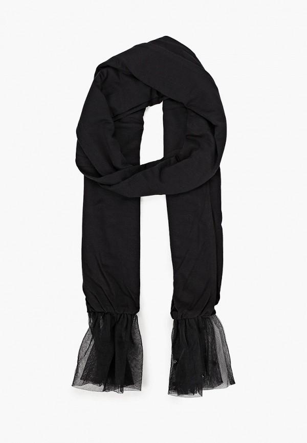 шарф twinset milano для девочки, черный