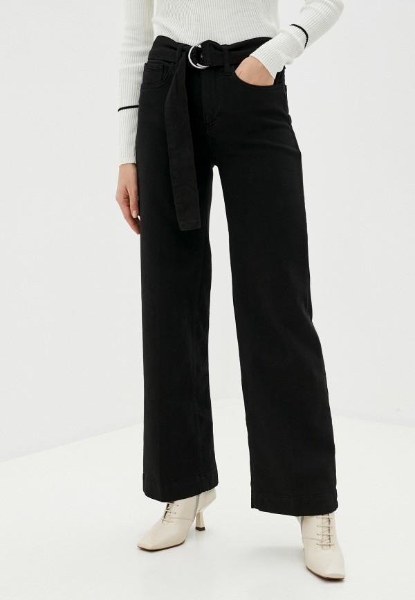 женские джинсы клеш twist & tango, черные