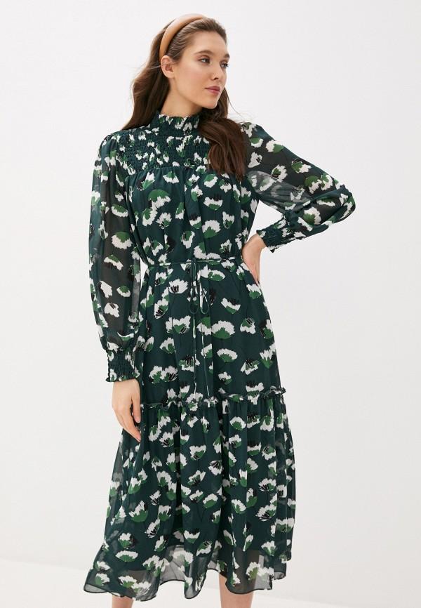 женское повседневные платье twist & tango, зеленое