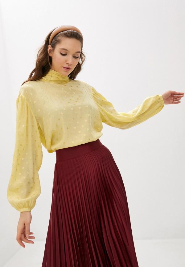 женская блузка twist & tango, желтая
