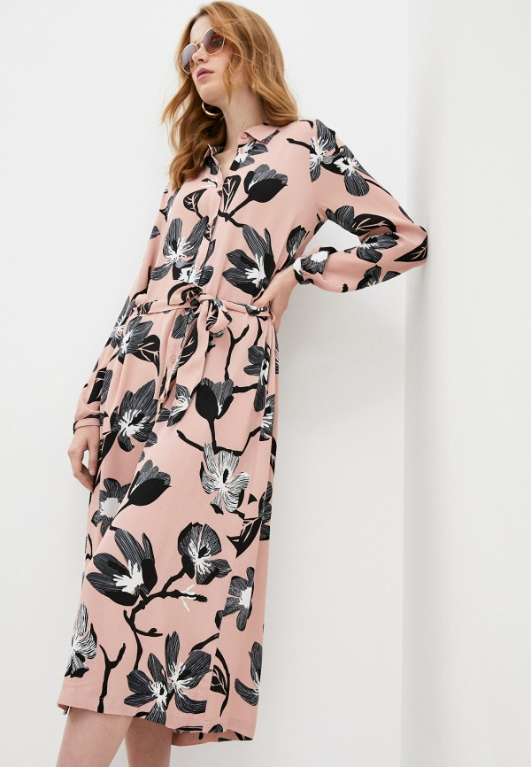 женское повседневные платье twist & tango, розовое
