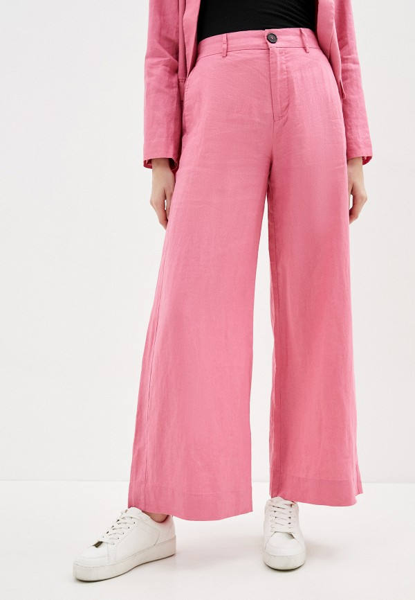 женские повседневные брюки twist & tango, розовые
