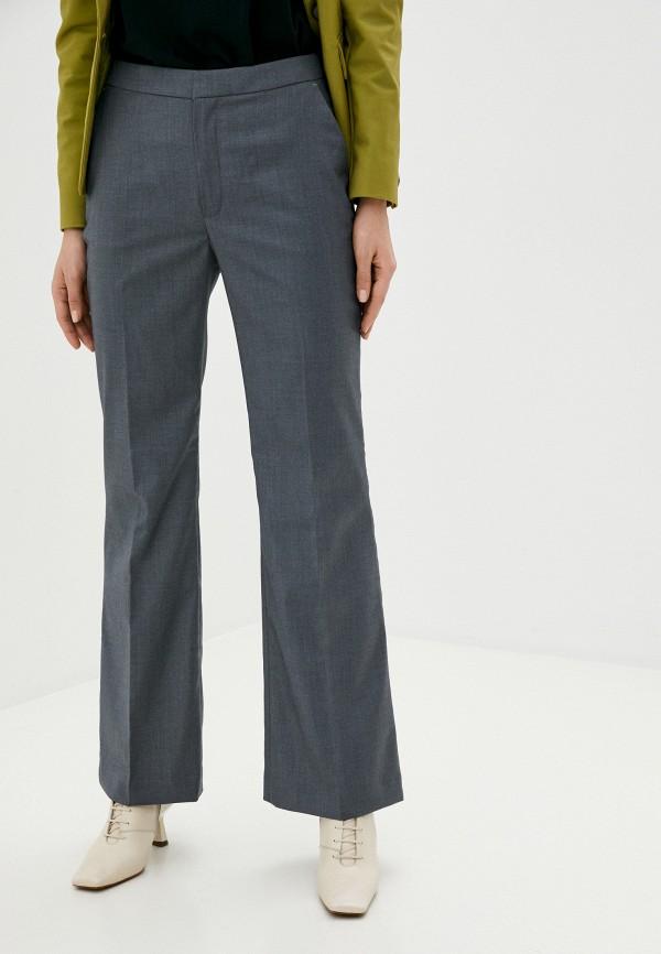 женские классические брюки twist & tango, серые