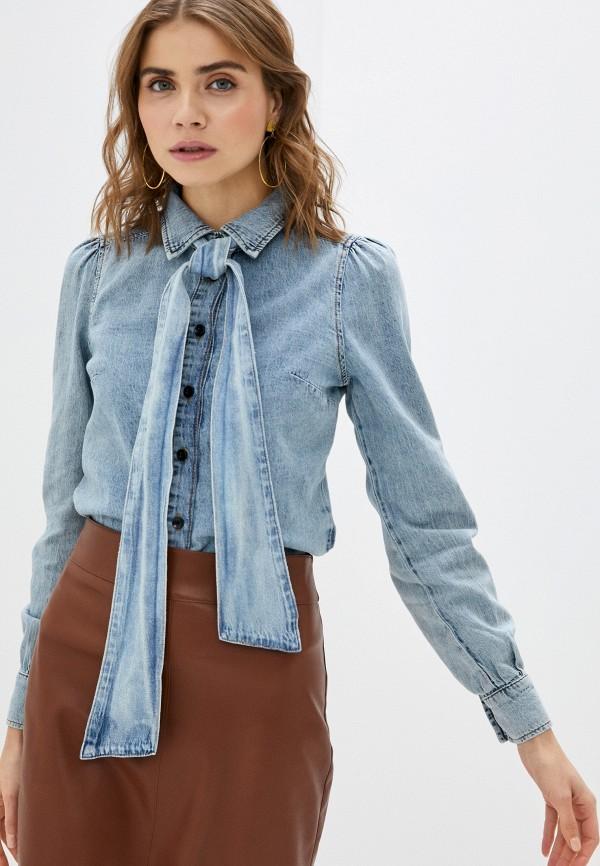 женская джинсовые рубашка twist & tango, голубая