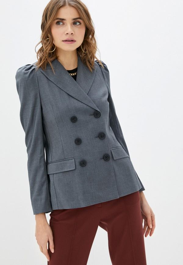 женский пиджак twist & tango, серый