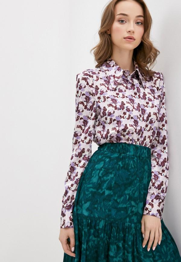 женская блузка twist & tango, фиолетовая