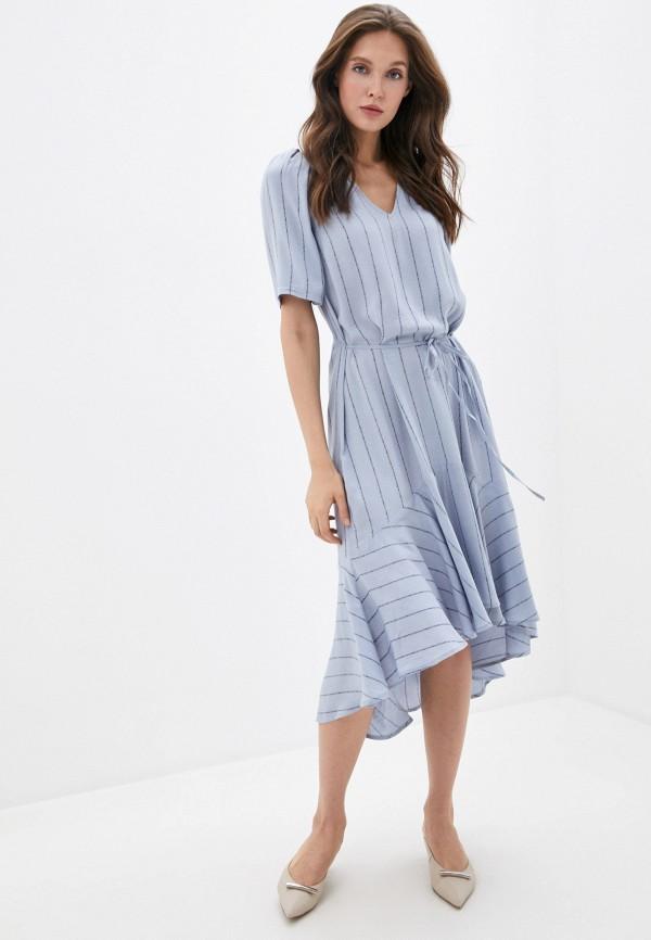женское повседневные платье twist & tango, синее