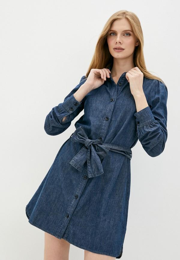 женское платье twist & tango, синее
