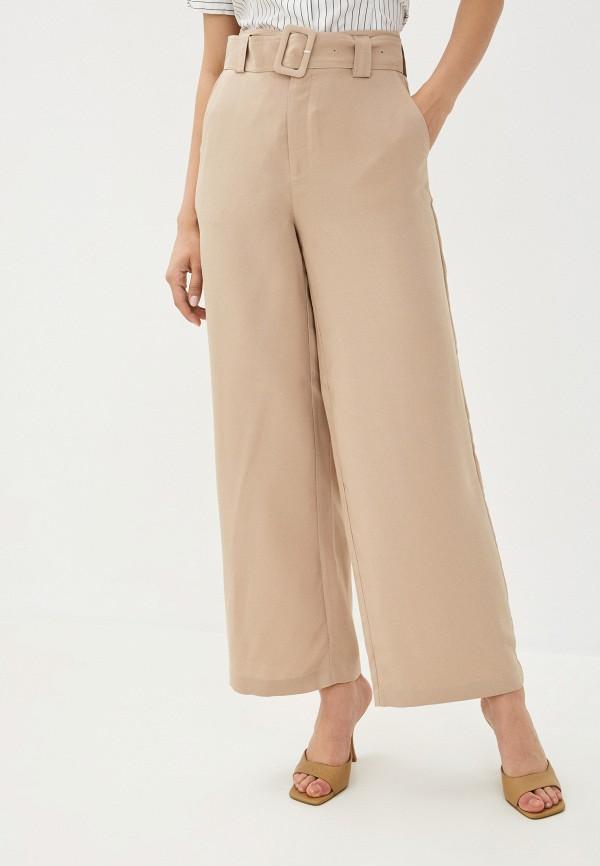 женские повседневные брюки twist & tango, бежевые