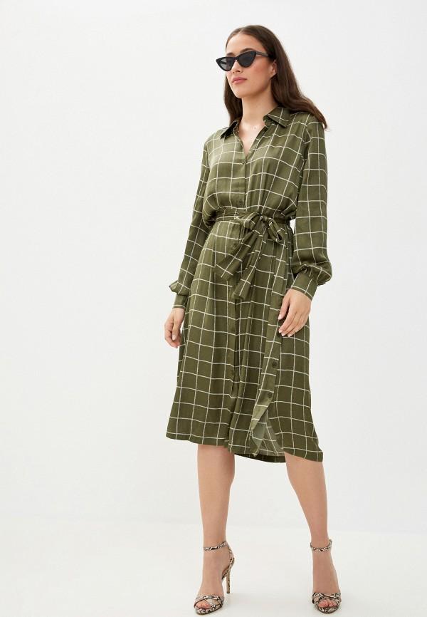 женское платье twist & tango, зеленое