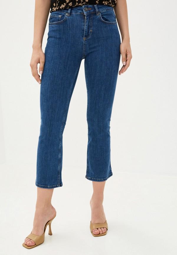 женские джинсы клеш twist & tango, синие