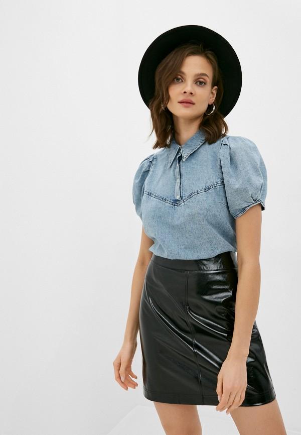 женская блузка twist & tango, голубая