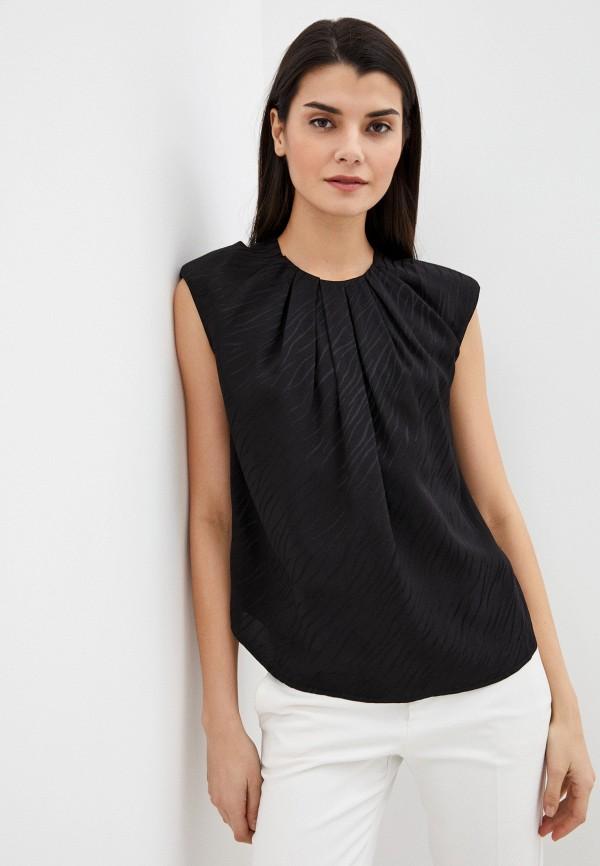 женская блузка twist & tango, черная