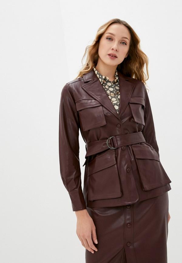 женский пиджак twist & tango, коричневый