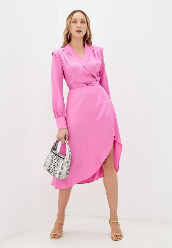 женское платье twist & tango, розовое